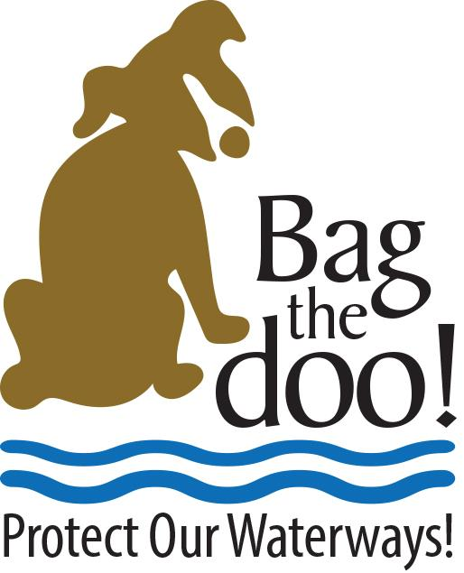 Bag the doo! Protect our waterways! graphic