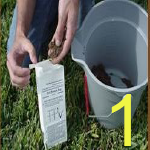 Image of items needed for soil test
